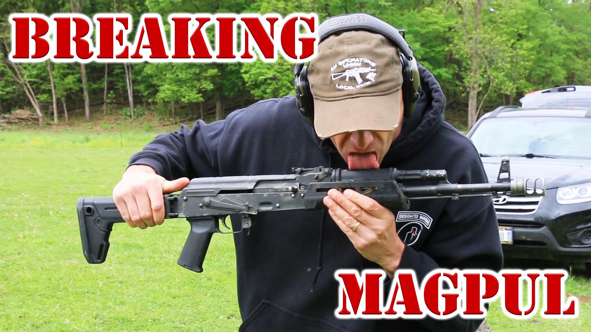 Breaking Magpul Ak Furniture
