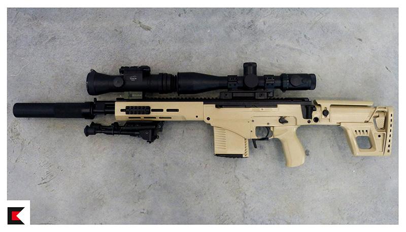 Kalashnikov Sniper Rifle