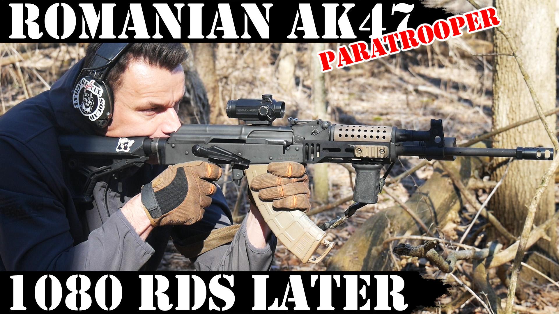Romanian Paratrooper AK47: 1080 Rounds Later! - AK Operators